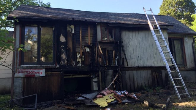 A man has been charged with arson in connection with a fire that damaged his parents' South Knoxville home Sunday. (Knoxville Fire Department)