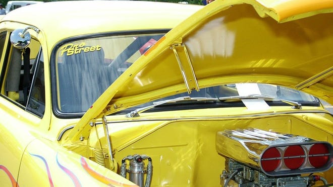 freeimages.com First Christian Church will turn over its parking lot to classic cars and hotrods today during the Cruisin' for Christ Car Show.