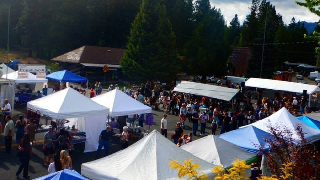 McCloud Chamber of Commerce will hold its 12th annual Mushroom, Music and Wine Festival Saturday and Sunday. It will feature wild edibles prepared by chefs, food products, wine tasting, live music and more.
