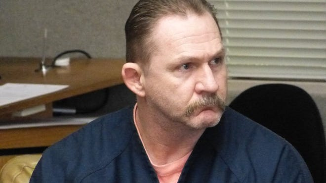 Vernon Lee Simon Jr., shown in this 2016 Record Searchlight photo, was sentenced Friday to 30 years to life in prison in connection with a fatal 2015 traffic wreck.