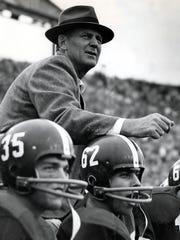 "Alabama coach Paul ""Bear"" Bryant"