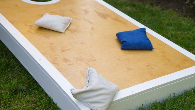 This weekend's cornhole tournament will take place at Player's Choice.
