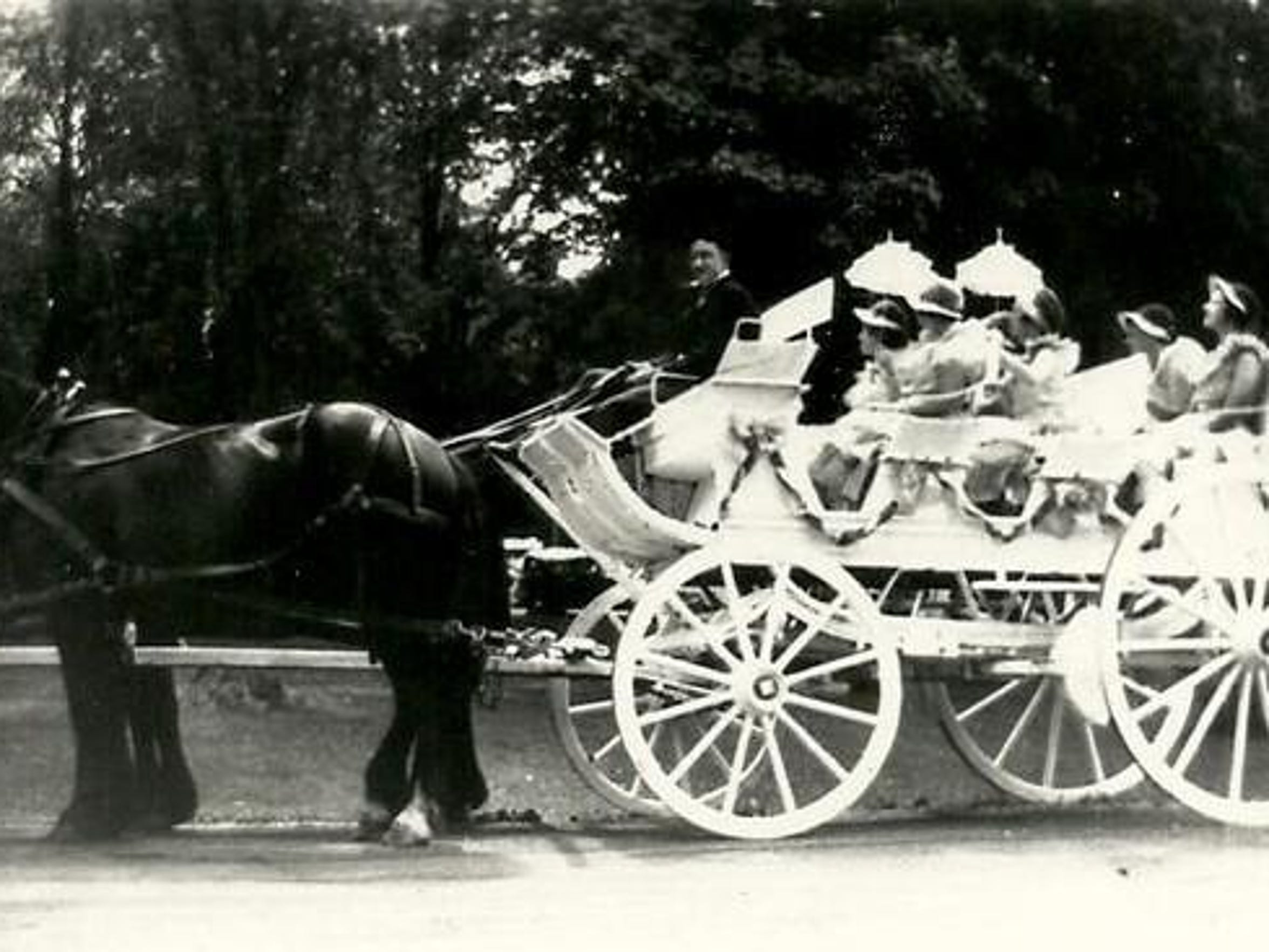 An entrant in the 1934 Richmond Fourth of July parade.