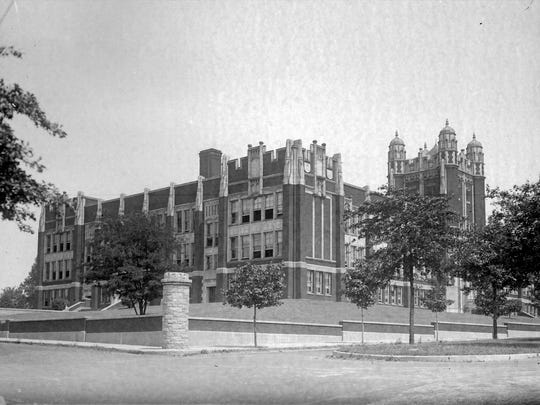 Undated file photo showing Camden High School, on the Park Avenue side.