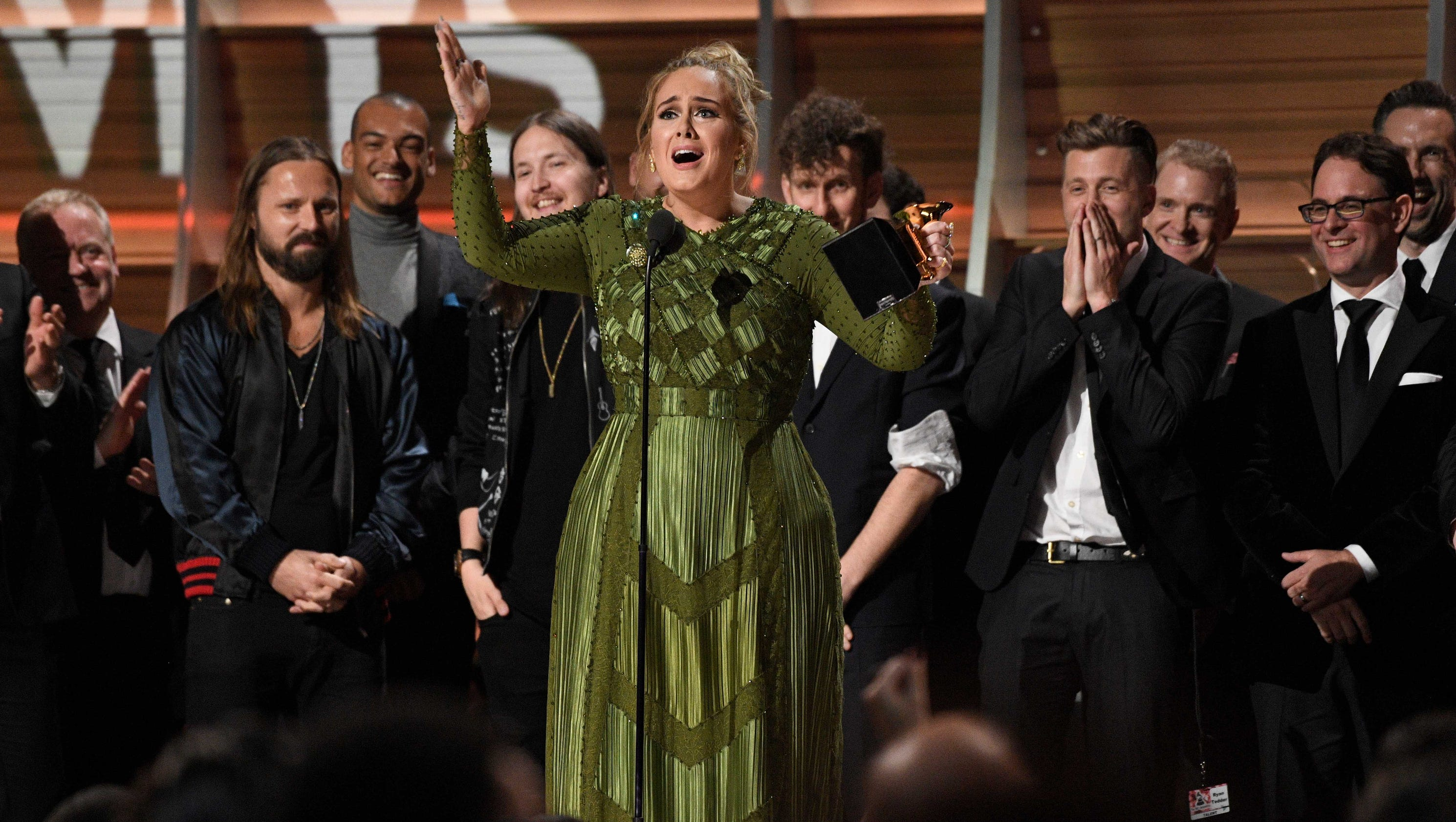 Grammy Awards: Adele Takes Song, Record And Album Of The Year At Grammy