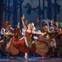 IF THE SHOE FITS: Costumes take on a role of their own in 'Cinderella'