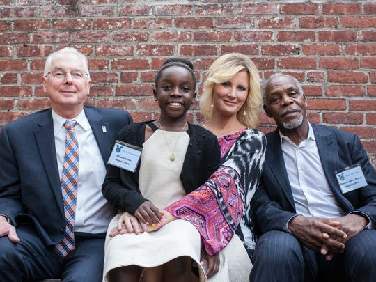 2016 Eleanor Roosevelt Val-Kill medalists, from left, Donald P. Christian, Mikaila Ulmer, Sandra Lee and Danny Glover pose for a photo at the award ceremony on Oct. 16.
