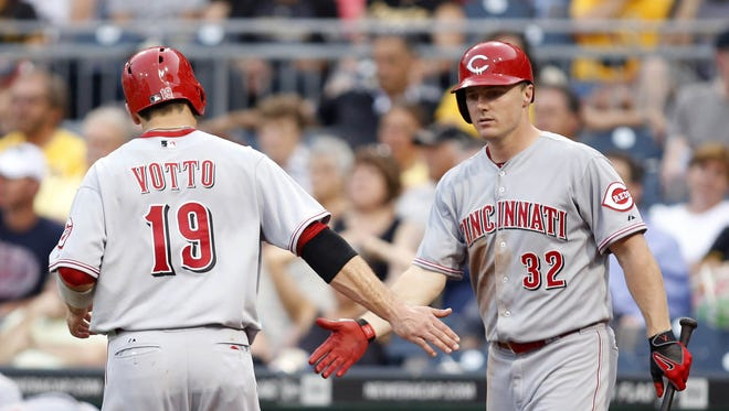 Joey Votto and Jay Bruce will try to power the Reds back into contention.