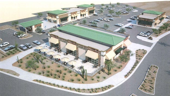 GoDaddy founder Bob Parsons plans to build a new shopping/dining hub near his Harley-Davidson dealership in north Scottsdale.