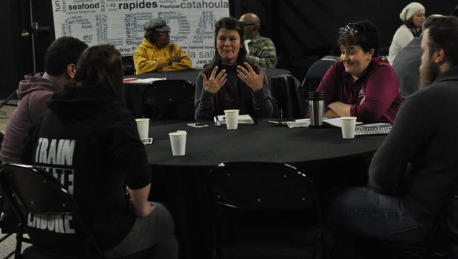 """The Central Louisiana Economic Development Alliance will launch a """"100 Days of Making"""" project on Feb. 1 as part of its Maker Mornings. On Tuesday, community members came out for an introduction to the program."""