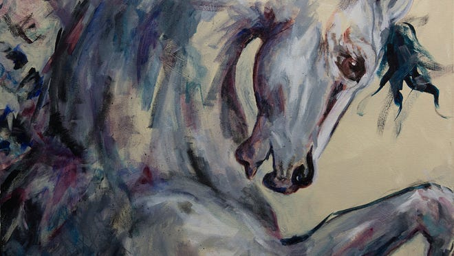 Margaret Culver's love of horses inspires her artwork.