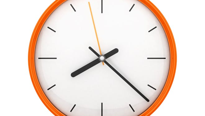 Nov. 2 is when the time changes back one hour for most of the USA.