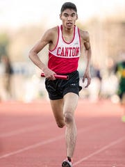 Canton's Ammar Chishti competes during a 2014 tournament.