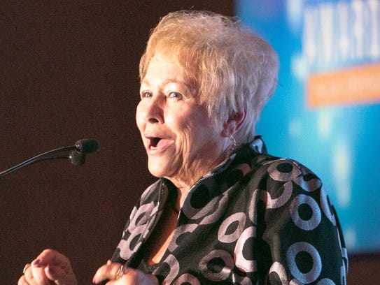 LifetimeAchievement Award Recipient Ginny Foat