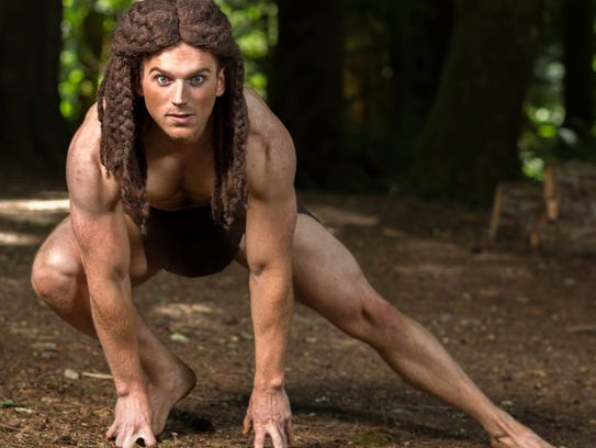 Jimmi Cook takes on the iconic role of Tarzan in the
