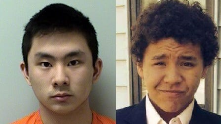 Photos of Dylan Yang and Isaiah Powell. Yang was convicted of killing Powell during a 2015 fight between the boys.