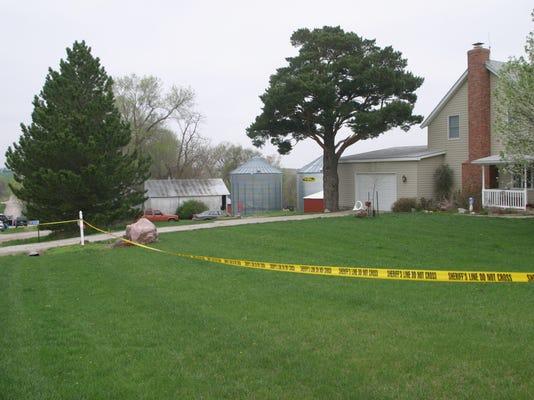 Site of the Nebraska farmhouse murders