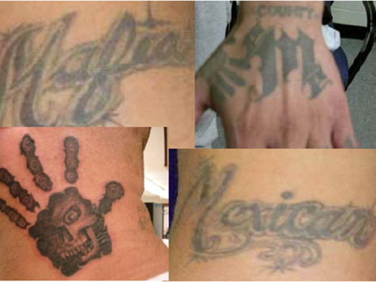 Criminals beware new software is tracking your tattoos for Mexican gang tattoos