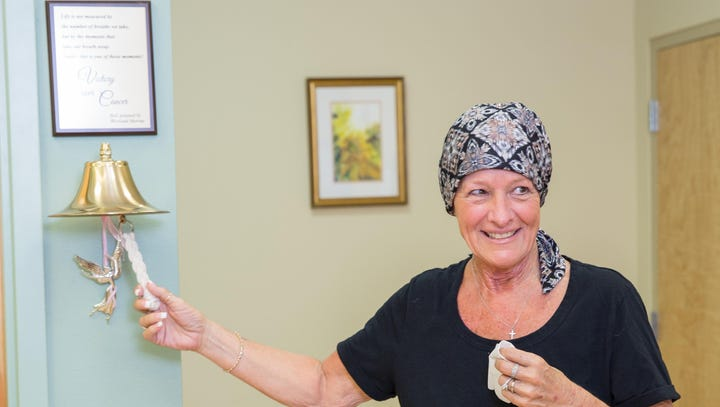 Bell's chimes celebrate chemo's end