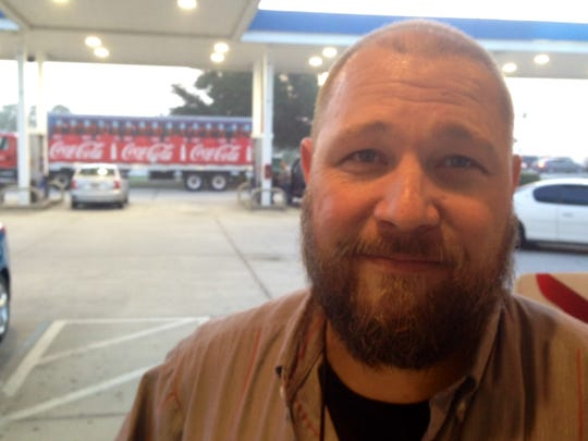 Jason Van Schaick, a Coca-Cola delivery truck driver, said he believes the gas tax is a good idea, considering how bad some local roads are.