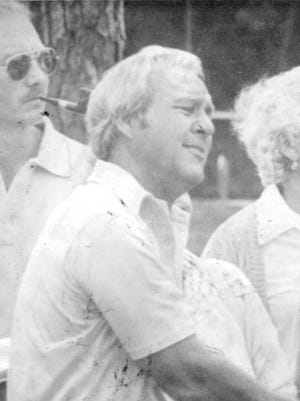 Arnold Palmer at the Tony Lema Memorial Tournament on Marco Island on March 13, 1979.