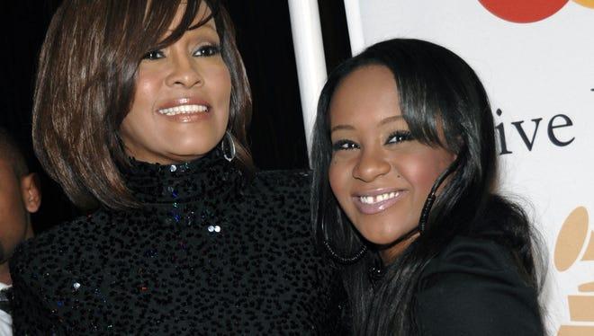 Whitney Houston and daughter Bobbi Kristina Brown.