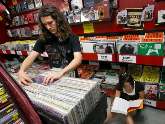 Zia Records vinyls