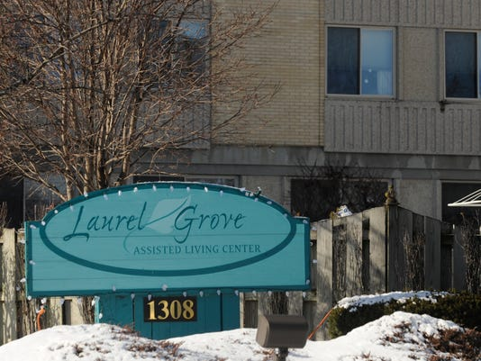 Laurel Grove assisted living sign