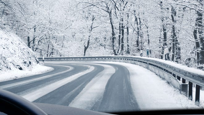 Winter driving conditions don't mean a pass on running into horses.