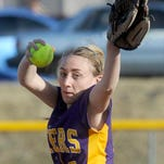 Millersport's Cassie Schilling swings at a pitch during a nonleague game Tuesday at Northridge.