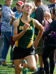 Edgar freshman Marissa Ellenbecker heads into the WIAA state cross country meet after winning a Marawood Conference and Division 3 sectional title the past two weekends.