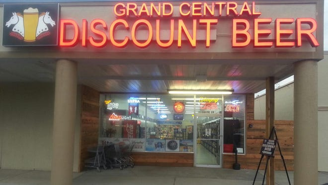 Grand Central Discount Beer is having a grand opening celebration Friday afternoon in Grand Central Plaza, Horseheads.