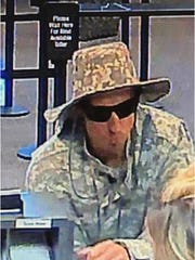 A male subject robbed Wells Fargo in Silver City on May 19 and got away with around $890.