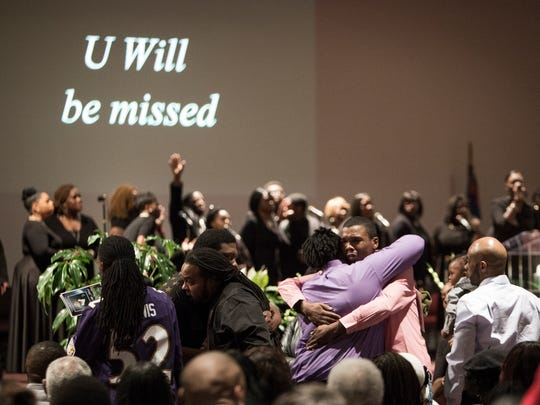 Friends and family honored Saturday the life of Jibreel
