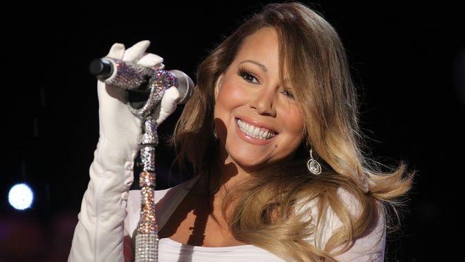 Mariah Carey performs on Dec. 6, 2013 in Washington, D.C.