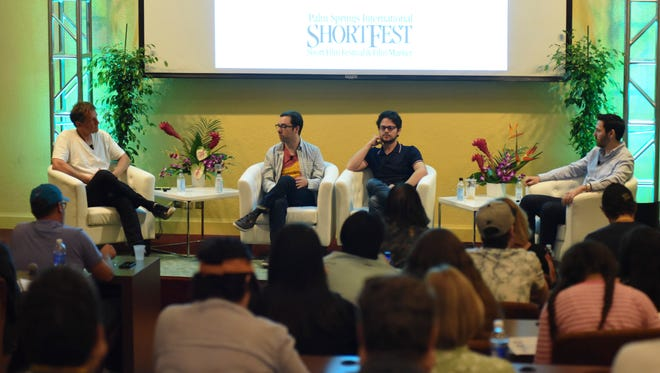The ShortFest Forums, such as this one from 2015, are part of the educational component of the Palm Springs International Film Society.