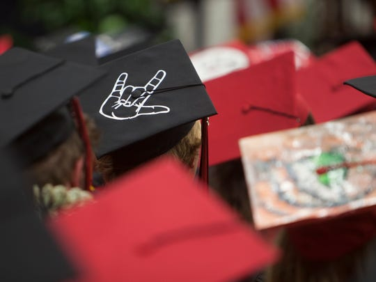 Hurricane High School commemorates the graduation of