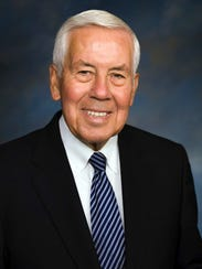 Former United States Senator Richard Lugar is scheduled