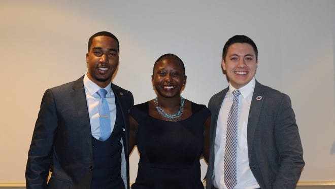 Stacey Pierre, Unite Party Candidate for Student Body President, has been elected as Student Body President, beating Independent candidate, John Walker.