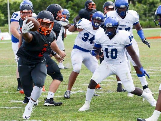 High School Football: Trinity Christian at Cocoa