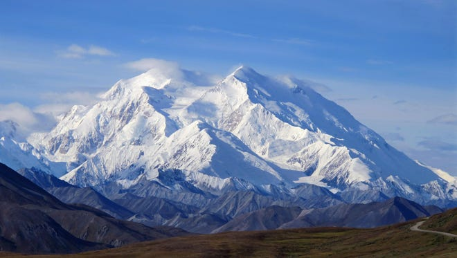 An Aug. 19, 2011, file photo shows Denali in Denali National Park, Alaska. The mountain's official height was reduced by 10 feet this week by the U.S. Geological Survey.