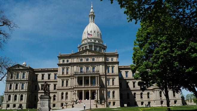 The state Capitol is seen in this LSJ file photo.