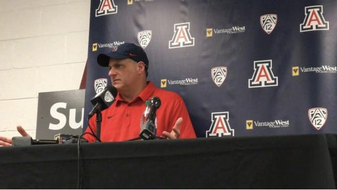 Rich Rodriguez was not happy in his postgame press conference on Saturday.