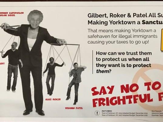 Yorktown GOP flyer
