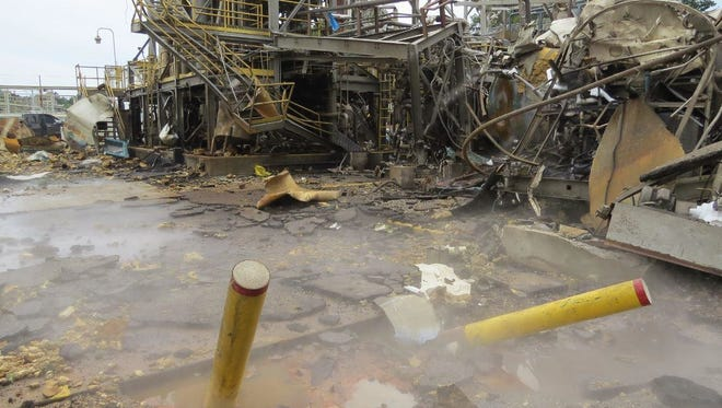 Jesse Folmar was killed in an Aug. 28, 2016, explosion at the Airgas facility in Cantonment. The U.S. Chemical Safety and Hazard Investigation Board determined the explosion was the result of insufficient safety measures at the facility.