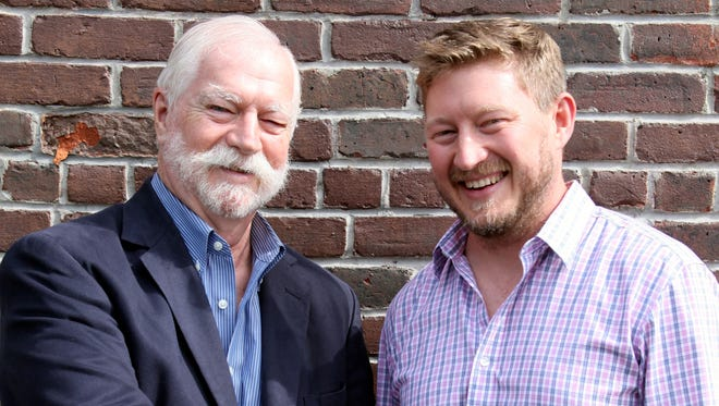 Viridian co-founder and former President Merwin Kinkade, left, and his son, Flint Kinkade, Viridian's new president of the Montclair-based environmental-services firm.