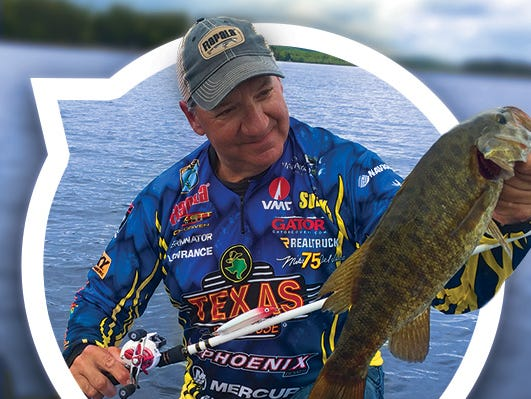 Enter to win a 3-day/2-night trip for two to Alden Camps in Maine with pro fisherman Mike Delvisco.