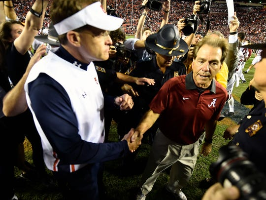 Rivalry clashes don't get much better than Auburn vs.