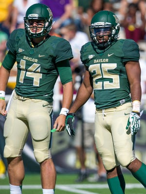 Bryce Petty and Lache Seastrunk have Baylor averaging 751.3 yards and 69.7 points per game.