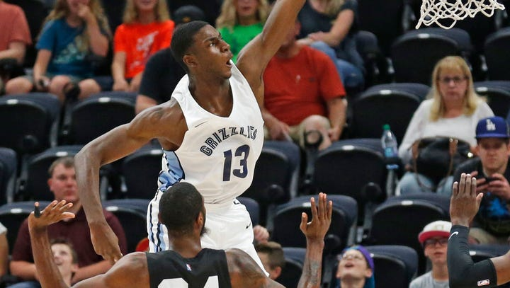 Jaren Jackson Jr. still turning heads as Memphis Grizzlies reach NBA Summer League semis